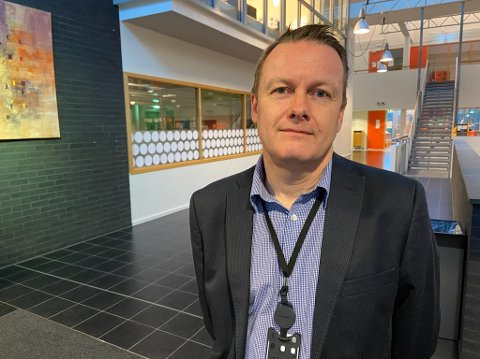 JANUAR: - Prosjektet har oppstart i uke 1, og vi har kun kort orientert elevene om hva som kommer, sier prosjektleder Espen With-Hansen. FOTO: Ole Jonny Johansen
