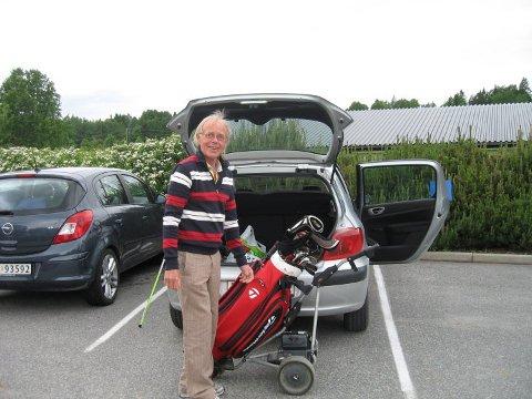 Per Hansen var i mange år ansvarlig for Grønn Glede på Drøbak golfklubb.