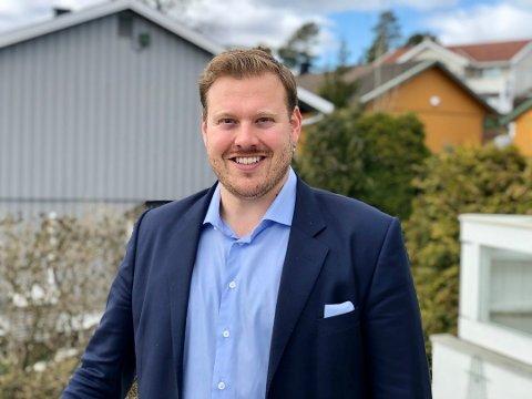 - KAN FØLE SEG SNYTT: Eiendomsmegler Joachim Norum Larsen i DNB Eiendom kommer med flere grunner til at såkalte hemmelige bud er en uting.