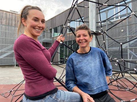 SELGER: Sonja Lubiana (t.v.) og Anette Hjerde selger Bokashi Norge a7s for 5,8 millioner kroner. FOTO: Ole Jonny Johansen