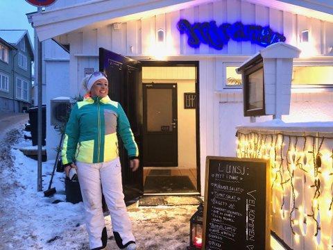 Fornøyd: Maria Enstad ble overrasket og glad over lettelsene for spisesteder, men synes også det er litt urettferdig.