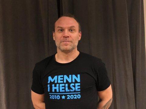 OMSKOLERT: Ole Rønning fra Nesodden  har har jobbet i mange år som rørlegger. Nå har hatt blitt med i prosjektet Menn i helse og med det blir han omskolert til helsefagarbeider. FOTO: Privat