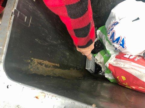 Stinker: – Dette er ikke hyggelig, og i bunnen ligger masse hundeposer, viser beboeren i Badeveien.