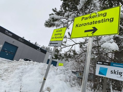 Det er ikke få som har testet seg i Nordre Follo den site tiden. Foto: Birgitte Henriksen/ØB