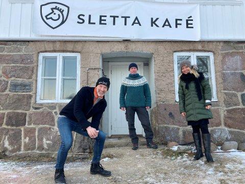 – Det er viktig at ikke alt skjer på en gang. Vi må ta det litt forsiktig og det blir spennende å se hva regjeringen gjør nå., sier Steinar Dahlen, Tom Sammerud og Ellen Knutsen hos Nesodden kommune.
