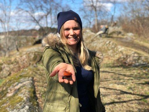 Små biter kan gjøre stor skade: – Det er første gang jeg tar initiativ til noe sånt, det var spontant, røper Marie Feiring.