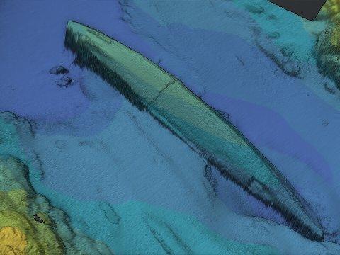 Styveshavn har i samarbeid med Dykkerteknikk kartlagt krigsskipet for Kystverket.