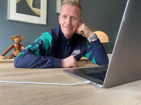 VIKEN-ENTUSIAST: Marius Hanstad fra Kjeller er antagelig landets eneste Viken-entusiast og koser seg med sin Facebook-gruppe Stort og smått for alle oss som bor i Viken».