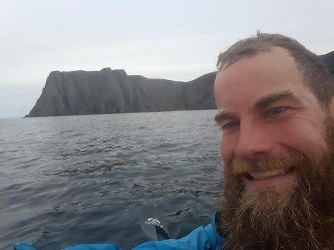 Joachim Larssen fra Nesodden nærmer seg målet ved russergrensa. På veien har han hatt en utrolig opplevelse.