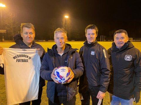 Pål Breen, Lars Bache, Jan Vidar Syvertsen og Lars Smith hadde ambisjoner for A-lagsfotballen på Nesodden