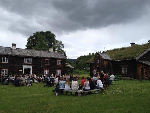 NY JAZZARENA: Bortistu Neby er stedet for Tynset Jazzfestival i august 2016. Bildet er fra en konsert med Kim André Tharaldsteen Rønningen sommeren 2015.