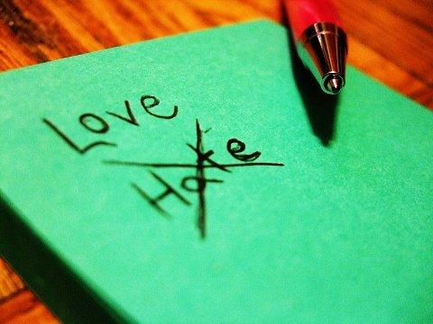 Friksjonen mellom gleden av å elske og lysten til å hate gir problemer.