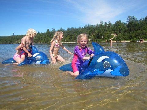 Kanskje ikke helt badetemperatur helt enda, men Fjellregionen har den siste uka fått kjenne på en smak av sommer.