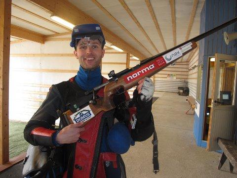 Roger Nilsen, klar for Nordisk mesterskap