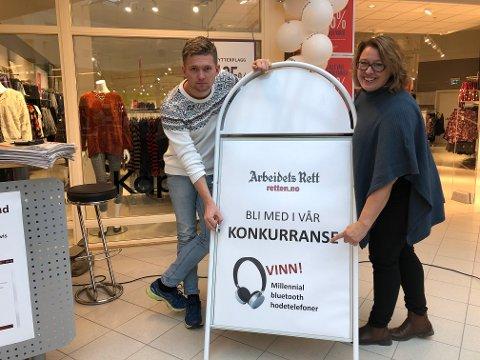 RETTEN: Tore Hilmarsen og Elisabeth Hovdahl.