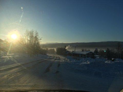 BLIR VELDIG KALDT: Fra torsdag blir det kaldere, og i helga blir det veldig kaldt i hele Fjellregionen.
