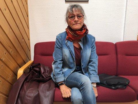 Laila Folde var en av tilhørerne under formannskapsmøtet. Hun er leder i Holtålen turforening.