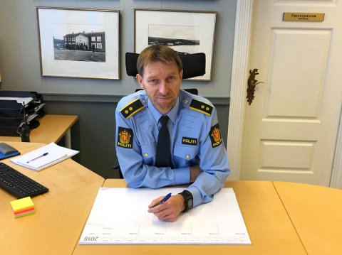 TAR SAKEN PÅ ALVOR: Avsnittsleder Øyvind Unsgård ved lensmannskontoret i Røros har opprettet sak og koblet på PST i saken.
