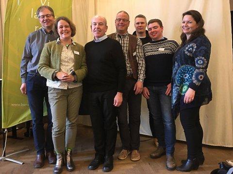 Alvdøl i styret: Geir Lohn, i midten, er innvalgt i styret i Hedmark Bondelag.