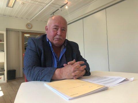 PENSJONISTPARTIET: Olav H Megård er leder i det nystiftede Pensjonistpartiet i Holtålen som stiller liste til valget 2019.