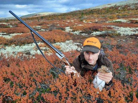 RYPE: Mats forteller til Arbeidets Rett at fritiden gjerne brukes på jakt fiske.