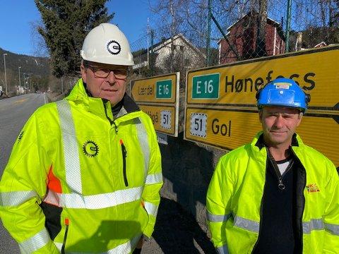 FOR ET ÅPENT SAMFUNN: Distrikssjef Leiv Peter Blakstad i  Maskinentreprenørerenes Forbund, avdeling Innlandet (til venstre).