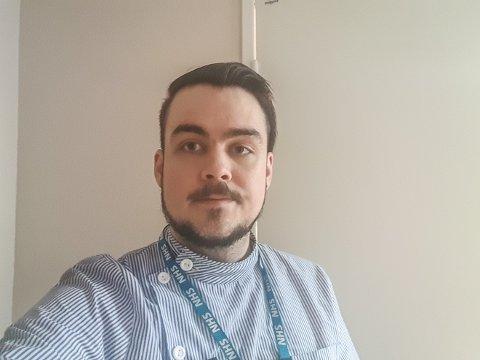 Jardar Rønning studerer til sykepleien i London og i år blir det en annerledes jul.