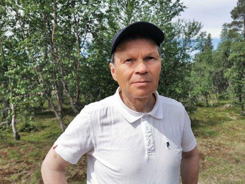 NYTT PROBLEM: Leder Jon Anders Mortensson i Elgå reinbeitedistrikt.