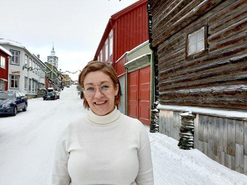 Anita Siverstgård, journalist i Nea Radio.
