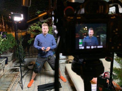 KORONAKORRESPONDENTEN: Lars Os startet i USA-jobben for NRK i 2017, da som fotograf og kameramann. Under koronaen våren 2020 grep han muligheten og ble igjen, mens andre norske journalister reiste hjem. Nå blir han den nye USA-korrespondenten fra høsten.