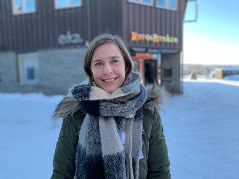 Silje Kvilvang startet i november opp i jobben som ny kunderådgiver for næringslivet i Rørosbanken.