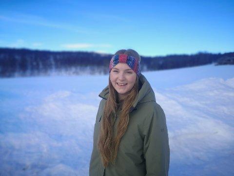 HAR EGEN BEDRIFT: – Å se at vi har fremgang i prosjektet, er stor motivasjon, sier den unge gründeren Ann Elinor Jamtvoll (23). Hun har vokst opp på en sauegård i Haltdalen.