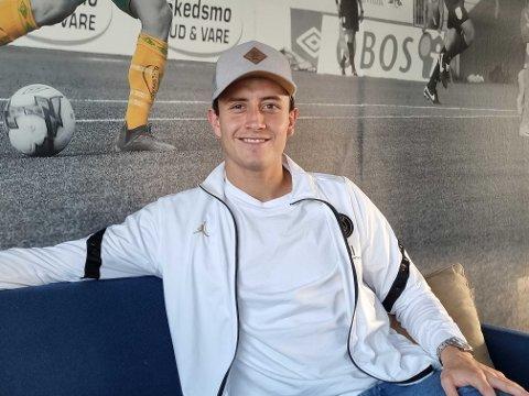 Ole Sæter smiler før han snart begynner høstsesongen for Ull/Kisa. Hva slags spiller returnerer til RBK i januar?