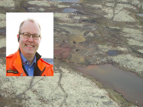 GRUVEDRIFT: Gudbrand Rognes har tru på ny gruvedrift, men er innstilt på at det kan ta tid