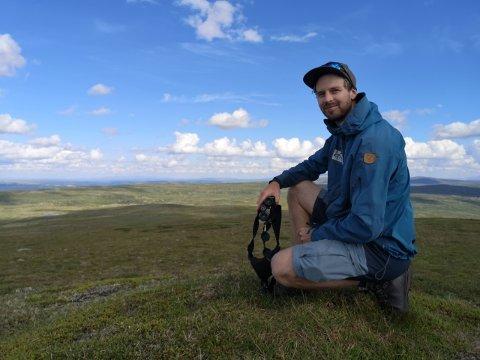 Hans Bull, nasjonalparkforvalter Forollhogna nasjonalpark