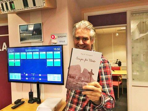 """Dag Nestegard var på NRK Sogn og Fjordane denne uka for å snakke om romanen """"Songen frå Toledo""""."""