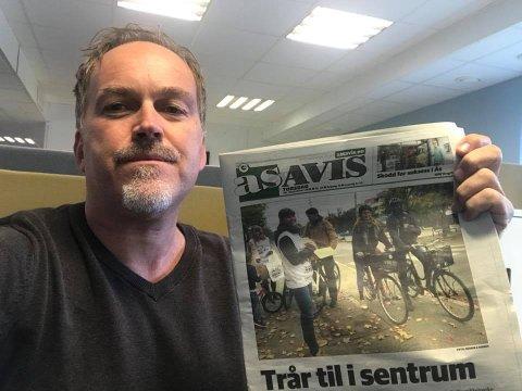 Henrik Christie, redaktør i Ås Avis.