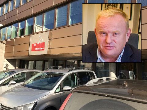 ØNSKER FORTSATT NÆRING HER: Kjetil Barfelt (FrP) sier at det ikke bør tillates en stor omregulering fra næring til bolig i Moerveien 12.