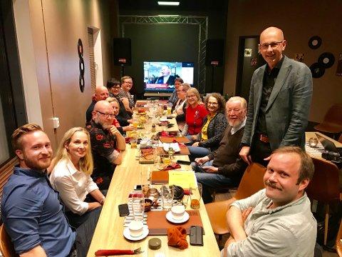 VIL FORTSETTE VED RORET: Ola Nordal og Ås Ap håper å få med seg SV, Rødt, MDG og Venstre på et nytt samarbeid de neste fire årene.