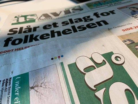 ØKER I OPPLAG: Ås Avis har nå 2350 registrerte abonnenter.