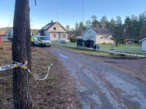 DØDE: Kvinne som ble påkjørt av søppelbilen i Spars vei mandag døde av skadene.