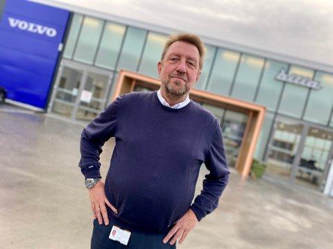 SJOKKARTET: Det var en sjokkartet opplevelse for Fred Stenseth, plassjef for Volvo ved Bilia Follo, å få beskjeden om at den norske Volvo-importøren har sagt opp forhandleravtalen med Bilia.