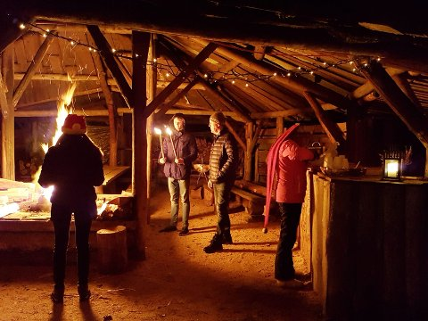 Halvveis under tak håper Saga event å lokke til seg kunder i vinter.