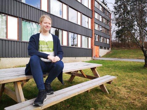 RUST OPP: Vedlikehold og oppussing av studentboliger er god miljøpolitikk, sier Pernille Fritheim, leder av Ås Grønne Studenter.