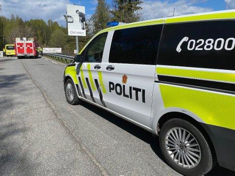 SENDT TIL SYKEHUS: Syklisten måtte sendes til Ullevål sykehus etter kollisjonen.