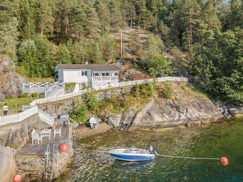Det var stor interesse for denne hytta ved Nebba. Etter en drøy uke, ble den solgt for 5,6 millioner kroner.
