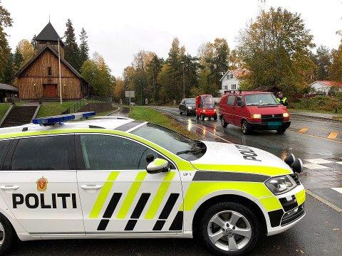 UP PÅ VEIENE: Her har UP kontroll på Nesodden. Nå varsler politiet flere kontroller denne uka.