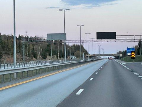 STENGT: E6 mellom Vestby og Korsegården.