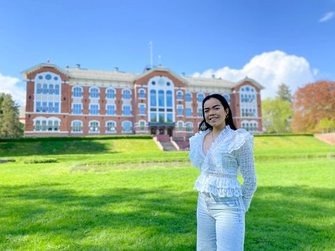 PRESSET MARKED: Problemet med boligsituasjonen for studentene i Ås er at privatmarkededet er lite og hardt presset, sier leder av Studenttingets Arbeidsutvalg, Ina Maria Finnerud.