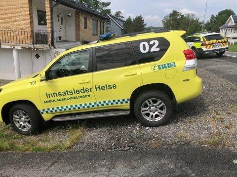 SKADET: En person er alvorlig skadet etter knivstikking på en adresse i Kråkstad.